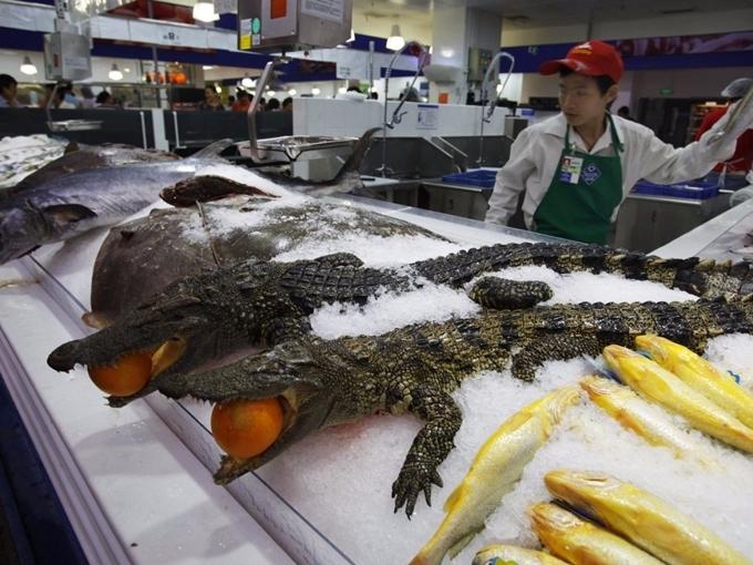 Những điều kỳ lạ chỉ có ở Walmart Trung Quốc