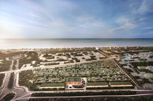 Dự án sở hữu vị trí đắc địa cạnh Quảng trường biển, thuận lợi giao thông.
