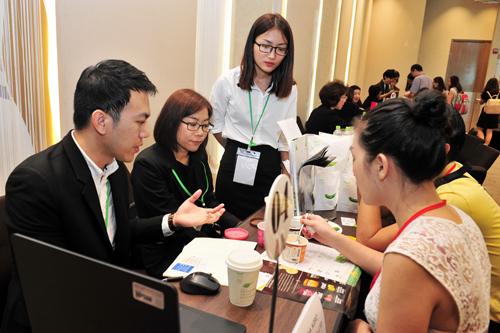 Hơn 115 cuộc gặp gỡ  giữa các doanh nghiệp được thực hiện