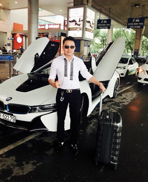 Anh Hoàng Bently - CEO Công ty TNHH Auto Huy Hoàng.