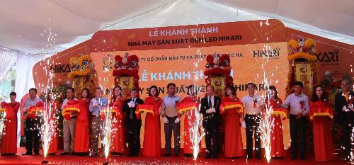 Lễ khánh thành Nhà máy Đèn Led HIKARI.
