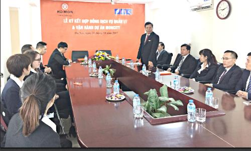 Lễ ký hợp tác giữa đại diện chủ đầu tư và đại diện PMC. Hotline: 0966 639 669,  0965 959 669.