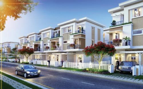 Những ngôi nhà 1 trệt  2 lầu, thiết kế hiện đại, gần gũi thiên nhiên. Thông tin chi tiết liên hệ:  Đơn vị phát triển Kinh doanh: CENLAND Miền Nam  Hotline: 0985 66 20 66 - Website: