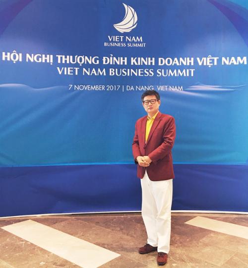 Ông Guo Zhi Feng  CT HĐQT Chicilon Media tham gia hội nghị thượng đỉnh APEC 2017