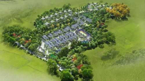 Quần thể biệt thự sinh thái Green Oasis Villas.