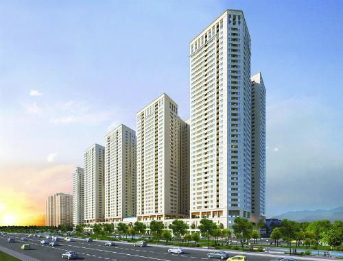 Công trình nằm tại khu vực Đông Bắc Hà Nội.