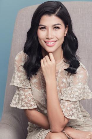 Người mẫu, Thạc sĩ kinh tế - Trang Lạ - đại diện Công ty TNHH Hosiana Vietnam.