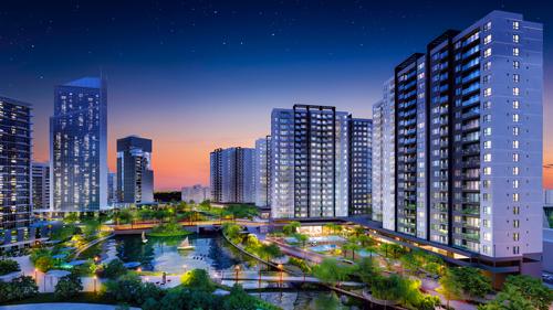 Flora Mizuki nằm trải dọc hệ thống kênh đào rộng 17.000 m2. Hotline: 0902 000 895. Website: www.mizuki.vn.