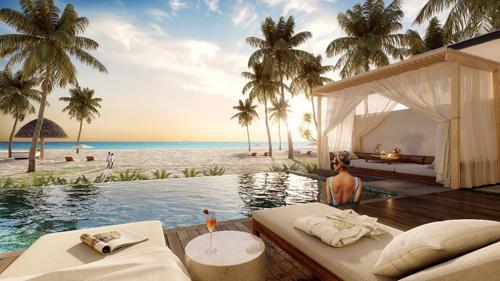 Mövenpick Resort Waverly Phú Quốc là một trong những khu nghỉ dưỡng có vị trí đắc địa, nơi được mệnh danh ngắm hoàng hôn đẹp nhất Việt Nam.