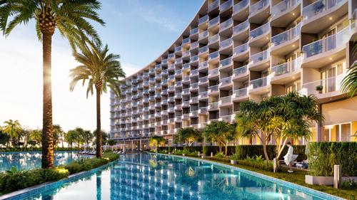 329 căn hộ nghỉ dưỡng tại Mövenpick Resort Waverly Phú Quốc.