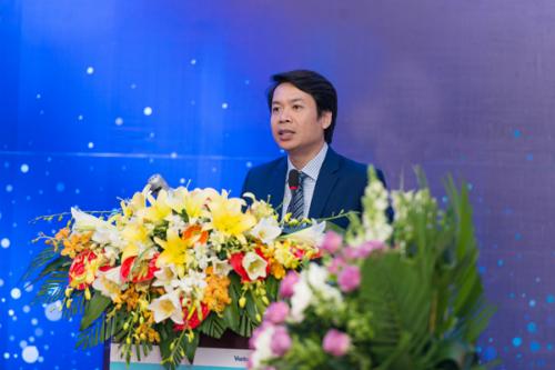 Ông Lê Tuấn Dũng, Tổng giám đốc VBI phát biểu tại lễ ra mắt Tổng công ty