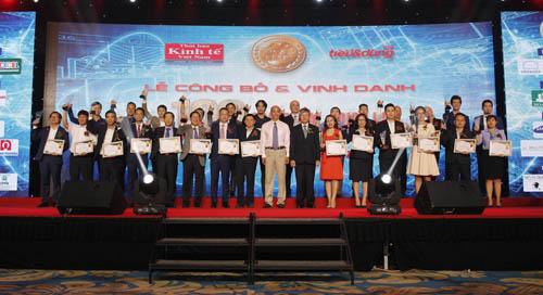 Các đơn vị nhận giải thưởngtop 100 sản phẩm, dịch vụ Tin và Dùng