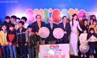 Người mẫu Thùy Dương đồng hành từ thiện cùng Tập đoàn CNI