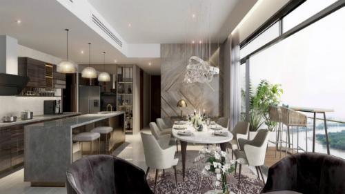 Phối cảnh căn hộ Q2 THAO DIEN có tầm nhìn ra sông Sài Gòn, thiết kế hiện đại, tinh tế. Liên hệ: http://www.q2thaodien.com.vn +84 888 988 800