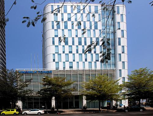 Trụ sở chính Công ty Cổ phần sữa Việt Nam (Vinamilk) tại TP.Hồ Chí Minh.