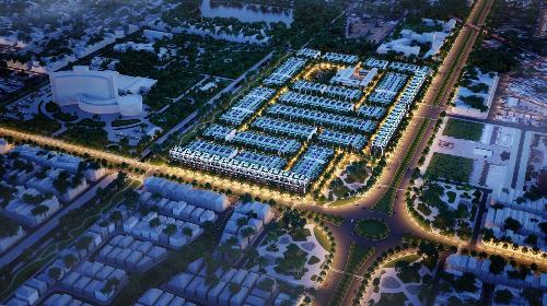 Loại hình nhà phố thương mại kiểu mới đang ngày càng được quan tâm.