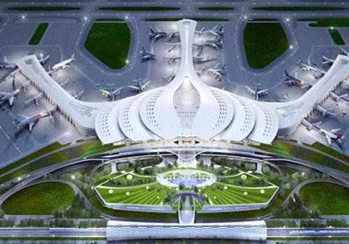 Sân bay Long Thành có diện tích thu hồi đất dự kiến lên tới 5.600 ha.