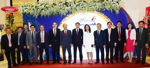 Sacombank kỷ niệm 26 năm thành lập