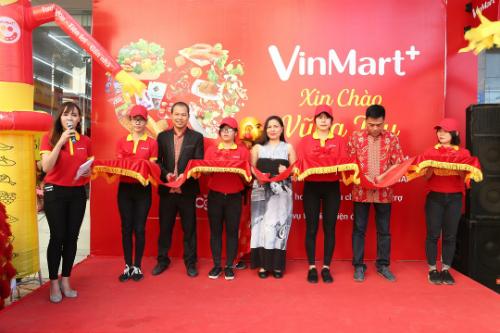 Đồng loạt 15 cửa hàng VinMart+ được khai trương trong cùng 1 ngày tại Vũng Tàu