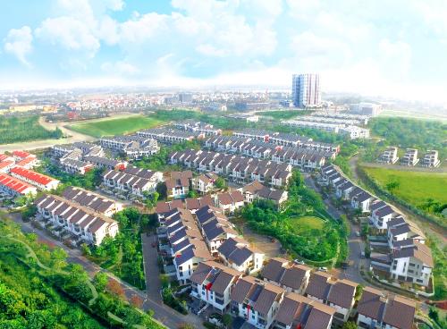 Khu đô thị Gamuda Gardens tọa lạc tại Hoàng Mai, Hà Nội.