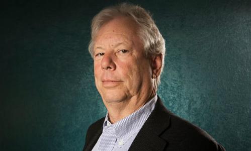Giáo sư Richard Thaler đạt giải Nobel Kinh tế 2017. Ảnh: Guardian