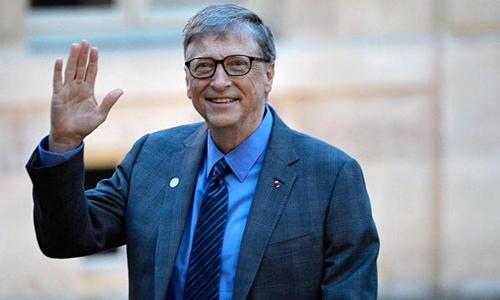 Bill Gates hiện có tài sản hơn 90 tỷ USD. Ảnh: AFP