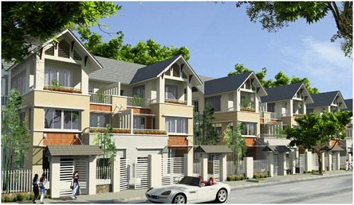 Một khu đô thị mới tại thị trấnĐồi Ngô, huyện Lục Nam, Bắc Giang.