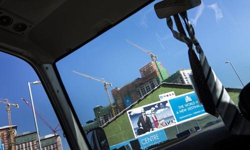 Dự án Baha Mar trong quá trình xây dựng năm 2013. Ảnh: AFP