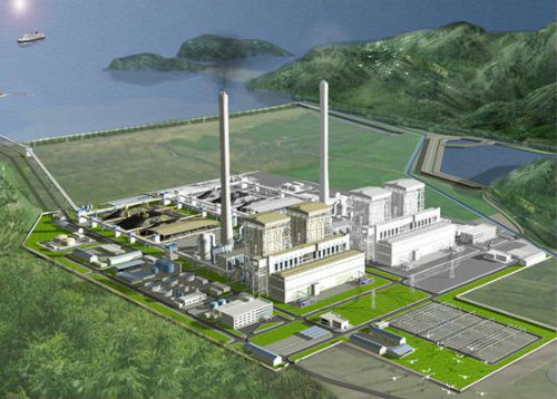 Tập đoàn Điện lực Việt Nam (EVN) lo ngại tiến độ dự án Nhiệt điện Quảng Trạch 1 có thể chậm nếu không khởi công trước tháng 2/2018.