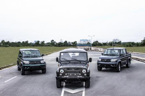 Mẫu xe Uaz của Nga được nhập khẩu nguyên chiếc về Việt Nam. Ảnh: AutoK