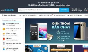 Trang web tra cứu giá từ 25.000 cửa hàng trực tuyến