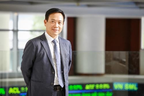 Chủ tịch Uỷ ban chứng khoán Trần Văn Dũng. Ảnh: Thành Nguyễn