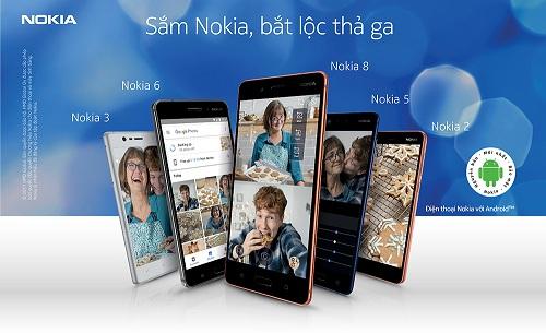 Nhiều ưu đãi khi mua điện thoại Nokia.