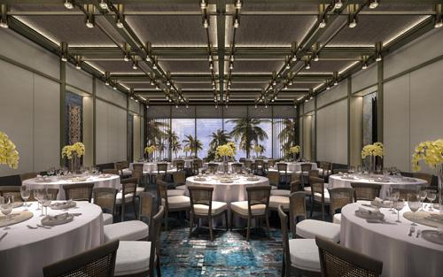 Ví dụ, nhà hàng của dự án sẽ được phát triển bởi đầu bếp nổi tiếng thế giới gốc Việt - Quế Vinh Đặng theo định hướng chuẩn Michelin Star để xây dựng thực đơn mang hương vị quốc tế nhưng vẫn đậm bản sắc dân tộc.  Với thế mạnh về phát triển hệ thống nhà hàng ẩm thực, các nhà hàng thuộc hệ thống khách sạn Regent luôn nằm trong danh sách các nhà hàng đáng đến nhất thế giới. Do vậy, Regent Residences Phu Quoc với 7 hệ thống nhà hàng sẽ mang đến nhiều lựa chọn ẩm thực đa dạng cho khách hàng.