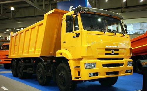 Xe Kamaz sẽ được nhập về Việt Nam.