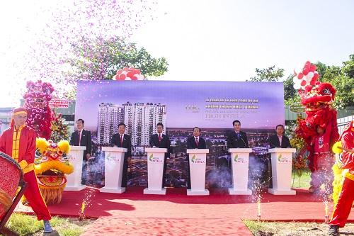 LGD Group khởi công dự án Khu căn hộ thông minh High Intela mặt tiền đại lộ Võ Văn Kiệt. Website: http://www.ldggroup.vn/Chủ đầu tư LDG Group: 0937928892. Đơn vị Phân phối độc quyền Unihomes : 0923898987 - 0906602605