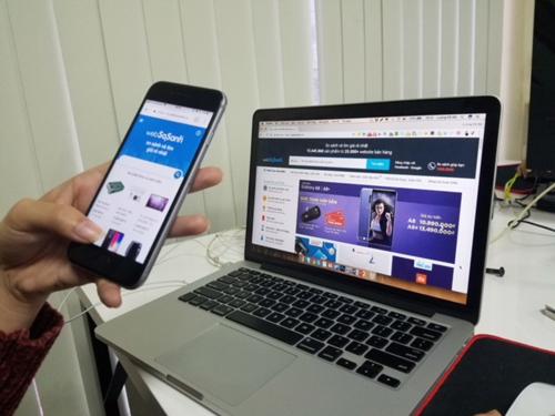 Mọi người có thể so sánh giá dễ dàng trên Websosanh.vn.