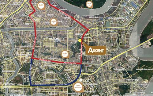 Ascent Lakeside được phát triển dựa trên sự hợp tác của Tiến Phát Corporation và tập đoàn Sanyo Homes - nhà đầu tư bất động sản uy tín hàng đầu tại thị trường Nhật Bản, nằm trên mặt tiền đường Nguyễn Văn Linh (quận 7, TP HCM), cách khu đô thị Phú Mỹ Hưng 1,5km, dễ dàng di chuyển vào trung tâm thành phố. Chủ đầu tư thiết kế dự án theo phong cách Nhật Bản với nhiều tiện ích nội khu, chú trọng phát triển mảng xanh. Sơn bề mặt bên ngoài đáp ứng tiêu chuẩn Nhật có độ dẻo, chống ẩm mốc, bám bụi, nứt, giữ màu sắc bền đẹp từ 5-10 năm.
