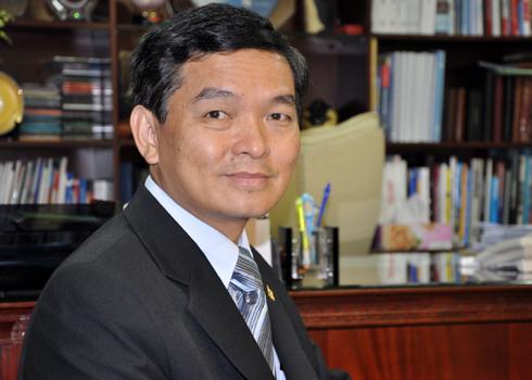CEO Hòa Bình, Lê Viết Hải cho biết thông tin công ty ông có quan hệ làm ăn với Vũ Nhôm là tin đồn thất thiệt. Ảnh: H.T