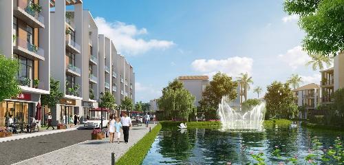 Khu đô thị mới Đồng Cửa được đánh giá là dự án đẳng cấp nhất tại huyện Lục Nam, Bắc Giang.