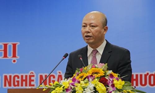 Ông Nguyễn Phú Cường - Vụ trưởng Vụ Khoa học công nghệ được Bộ Công Thương giới thiệu giữ chức Chủ tịch Vinachem. Ảnh: Moit