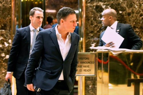 Peter Thiel là một trong những nhà đầu tư thành công nhất Thung lũng Silicon. Ảnh: Reuters