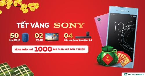 Cơ hội sở hữu điện thoại Sony giá ưu đãi
