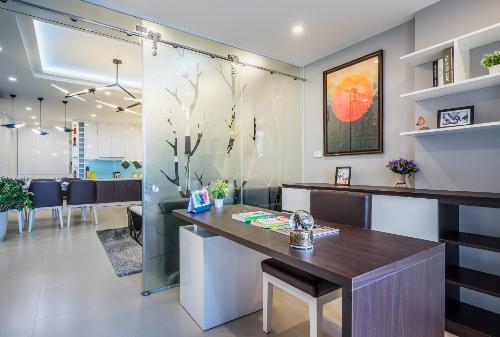 Căn hộ T&T Riverview có diện tích rộng, linh hoạt và đầy đủ tiện nghi.