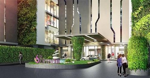 Dự án gồm 55 tiện ích nội khu như bể bơi vô cực, Aqua gym, co-working space...