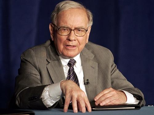 Huyền thoại đầu tư Warren Buffett. Ảnh: AP
