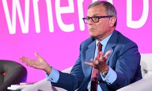 CEO hãng quảng cáo WPP - Martin Sorrell. Ảnh: AFP