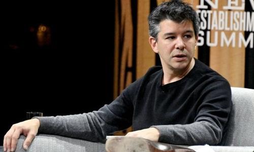 CEO Uber - Travis Kalanick có thể tạm rời công ty. Ảnh: AFP