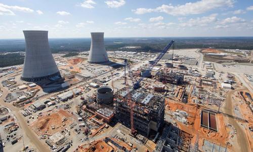 Toshiba gặp khó khăn vì dự án nhà máy điện hạt nhânWestinghouse tại Mỹ. Ảnh: NY Times.
