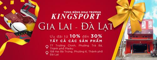 Tiếp tục phát huy thế mạnh sẵn có, tập đoàn đã khai trương hai chi nhánh Kingsport Gia Lai và Đà Lạt dịp đầu năm 2018.